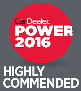 Highly commended at car dealer power awards
